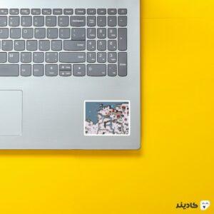 استیکر لپ تاپ جنرال - قسمتی از بازی روی لپتاپ