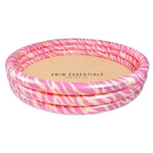 Kinderzwembad roze zebra