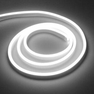 Bandă LED Neon Flex Slim 220V Lumina Alb Rece