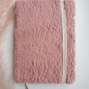 Roze teddy notitieboek met naam