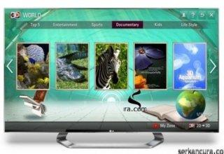 LG yeni nesil 3D içerik hizmeti 3D World'ü duyurdu