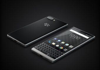 Ik fohn met mijn BlackBerry