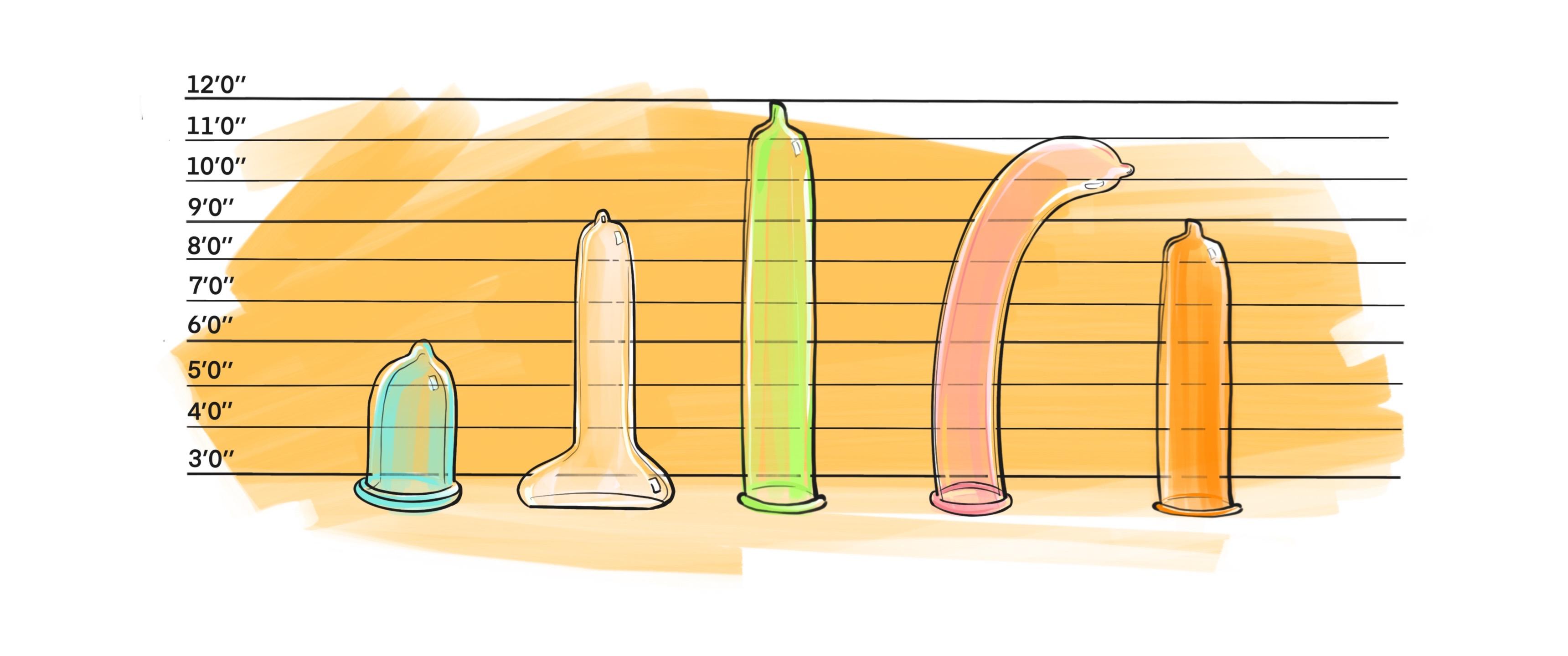 Kondome gibt es in allen Varianten.