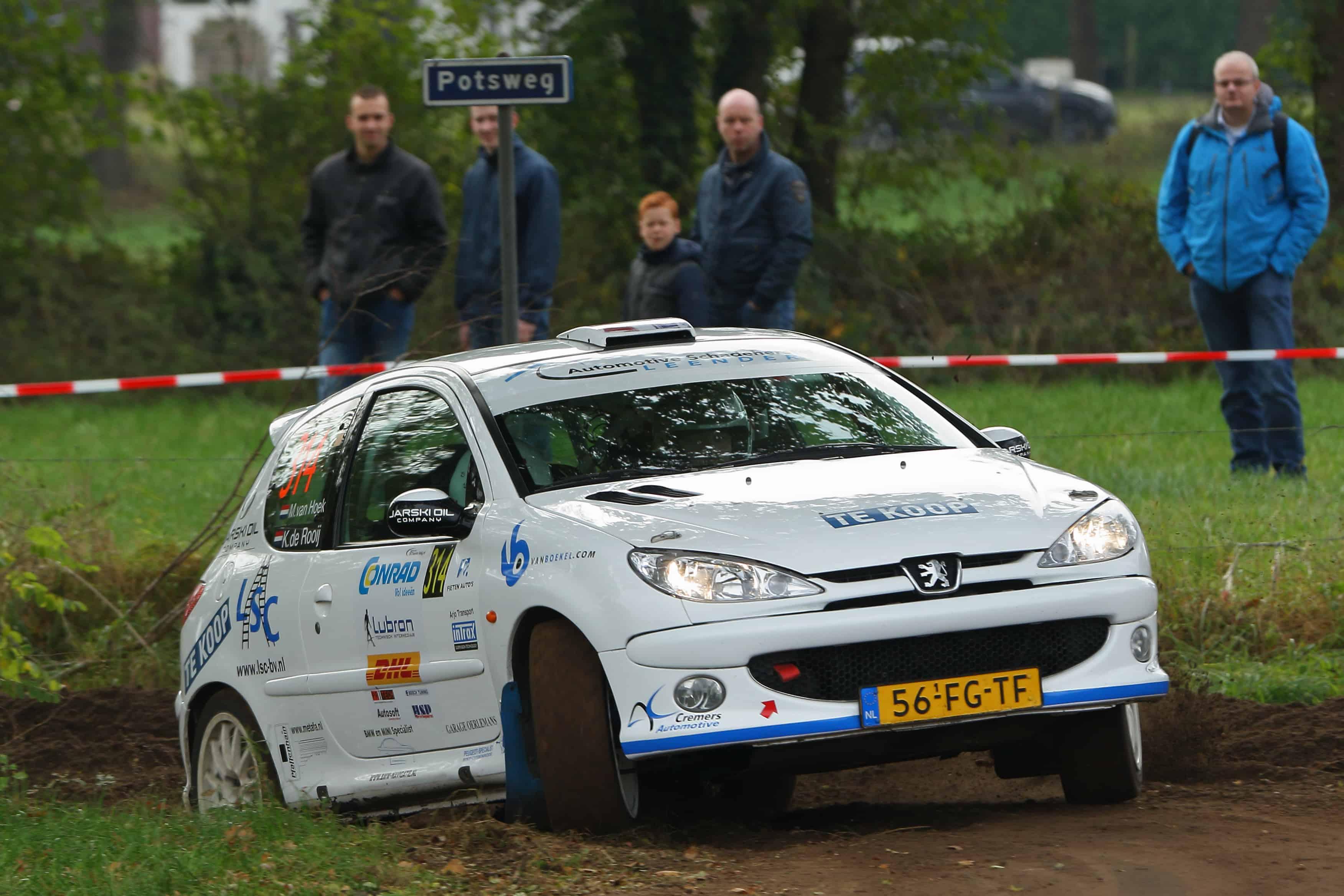 Martijn van Hoek - Peugeot 206 RC - Twente Short Rally 2016