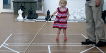 It can be hard entertaining a toddler on a cruise ship