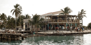 Caye caulker is a fun destination from ambergris caye
