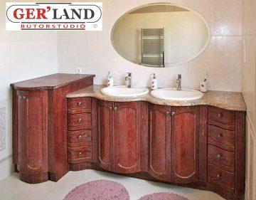 antikolt fürdőszobabútor