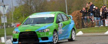 Roel van der Zanden en Ilse van de Sande - Mitsubishi Lancer Evo X - Visual Art Rally 2019