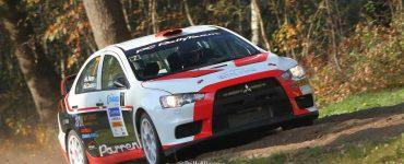 Lambert Parren & John Coumans - Mitsubishi Lancer Evo X - Twente Rally 2018