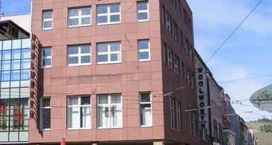 Die Woolworth Filiale in der Kaiserstraße in Würzburg