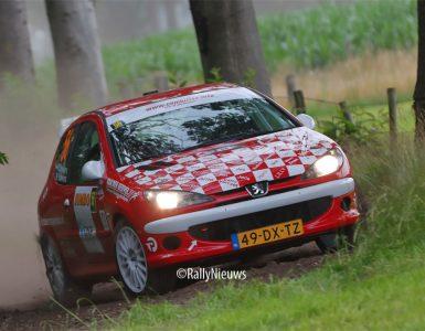Wim Stevens & Wesley Stevens - Peugeot 206 RC - GTC Rally 2021