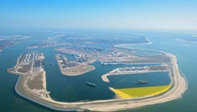 Holanda - Puerto de Rotterdam