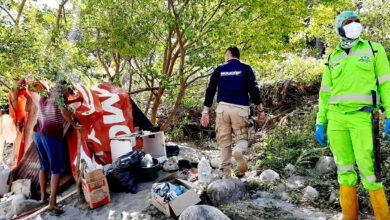 Photo of Desalojan a migrantes venezolanos de cambuches en Yopal