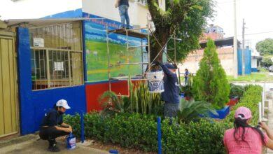 Photo of Jornada de pintura y aseo en la Institución Educativa Jorge Eliecer Gaitán