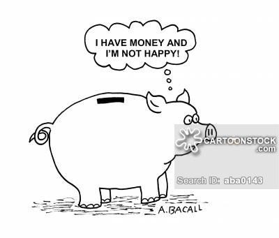 have money not happy