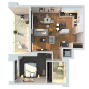 Mori-Condo-1-Bedroom-Floor-Plan SAmple