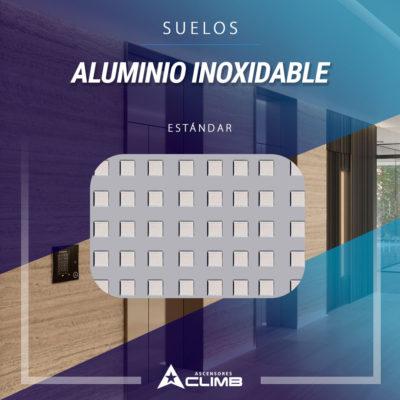 Suelos de aluminio inoxidable