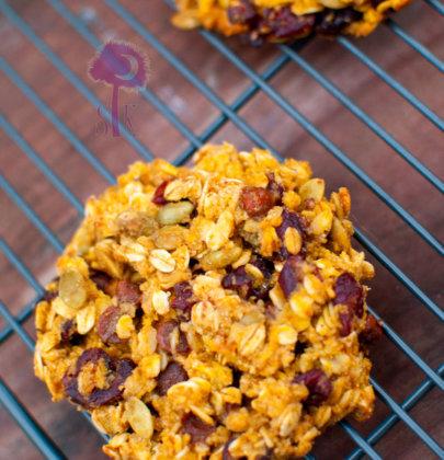 Autumn Harvest Breakfast Cookies