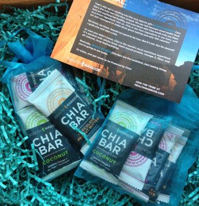 Health Warrior Chia Bar Giveaway!
