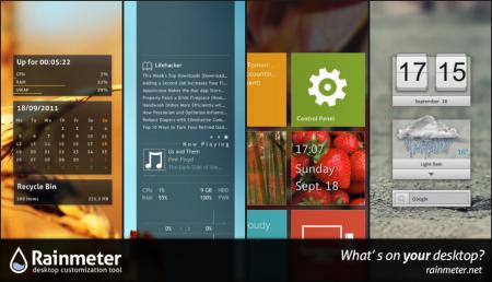 Je desktop aanpassen met gratis Rainmeter software