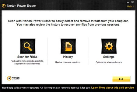 spyware adware verwijderen software Norton