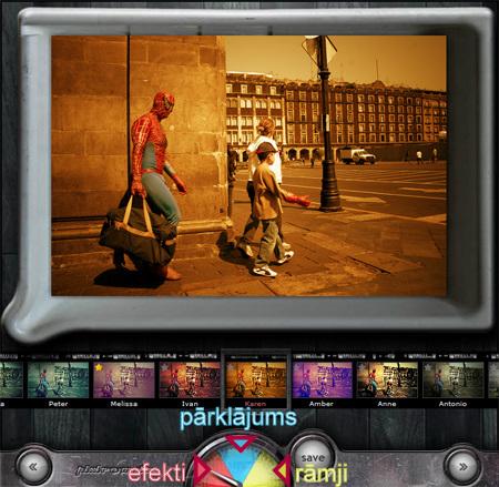 Pixlr o matic- stilīgo attēlu uzlabotājs