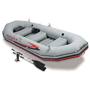 Intex Mariner  4-Person Inflatable Boat Set