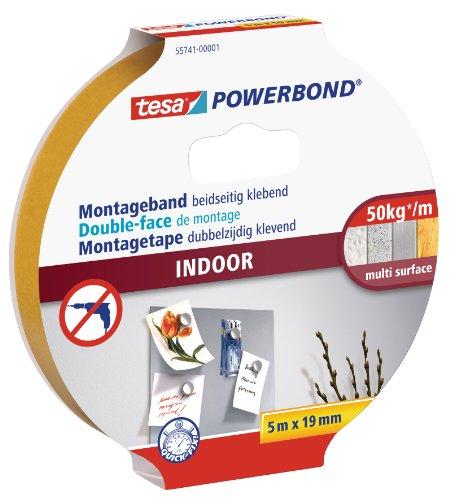 tesa Powerbond Indoor doppelseitiges Montageband