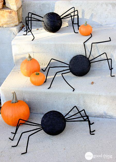 Creepy Halloween Spiders