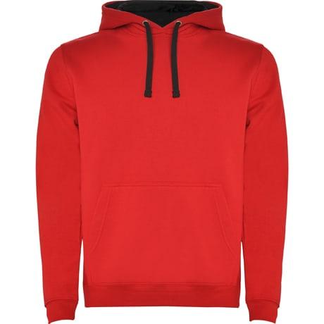 Bluza meska z wlasnym nadrukiem Roly czerwona