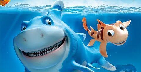 Короткометражные мультфильмы в 2020. Мультик про акулу и смелого рыбака.