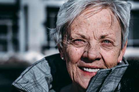 Older Woman Pensioner