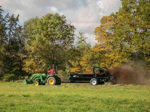 Tractor 185 PTO Manure Spreader Manure Management