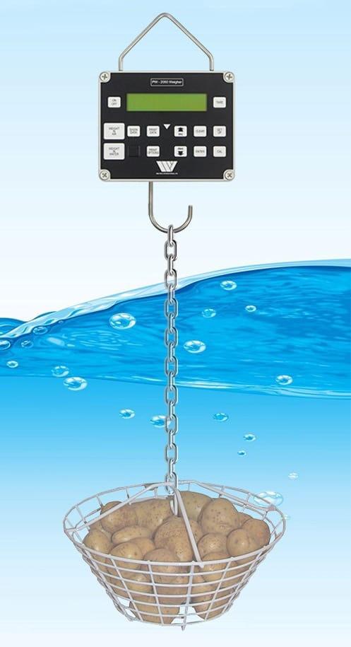 medição de matéria seca Weltech faz leituras de matéria seca na água