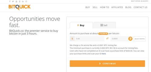 Bitquick pagina web