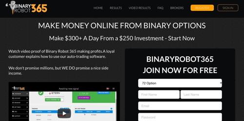 BinaryRobot365 pagina web