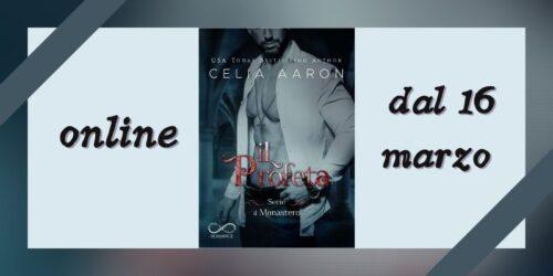 Cover reveal | Il Profeta di Celia Aaron