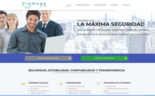 Finmarkfx5 pagina web