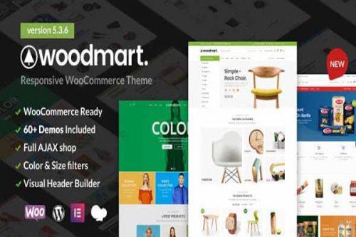 WoodMart WordPress Theme Free Download [100% Working GPL]