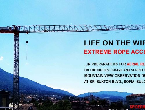 Life on the wire: extreme rope access