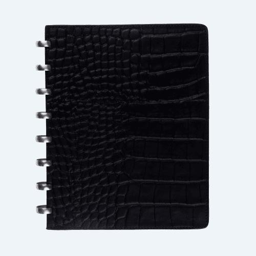 Croco A5 Black