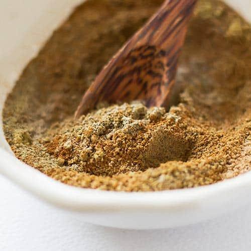 Garam Masala Powder in Bowl