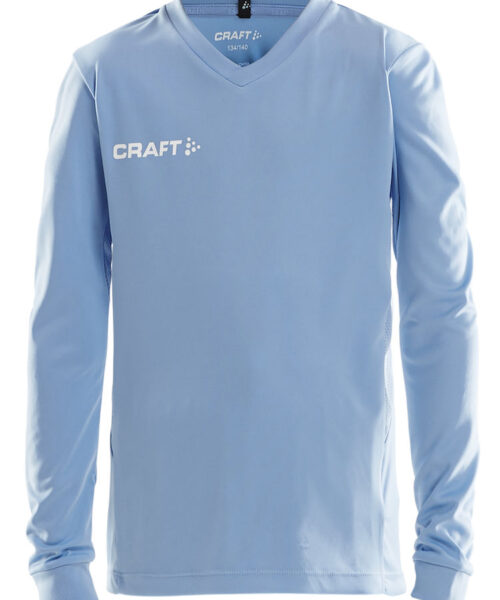 Long-sleeve jersey made of stretchy and functional fabric