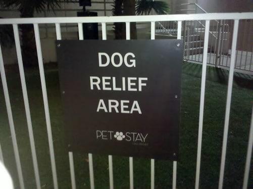 Pet Friendly Hotels Sign