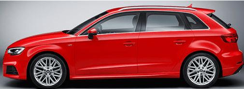 Audi A3 S3 RS3 8V 2013-2020 sicherste Alarmanlage