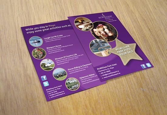 Mc_William_Park_Hotel_Flyer_Design_Leaflet_Design_West_of_Ireland_Mayo