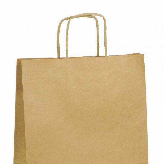 torby papierowe brazowe z nadrukiem