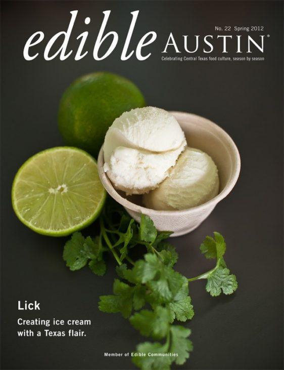 organic lime and cilantro ice cream gelato photo
