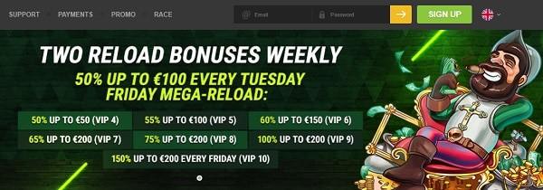 Fastpay Casino free bonus code