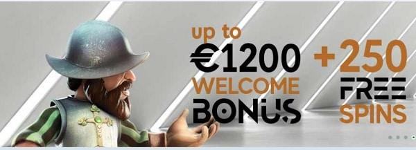 GoPro Casino welcome bonus pack